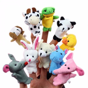 35 Fantoches De Dedos Animais Variados *estilo Chaveiro*