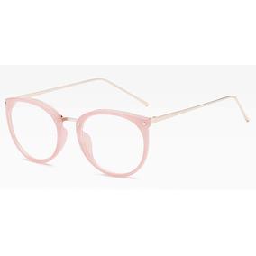e01a9ff091068 Armacao Oculos Cor De Rosa - Óculos no Mercado Livre Brasil