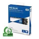 Disco Sólido Ssd M.2 22x80mm Wd Blue 3d Nand 1tb Sata 3.0