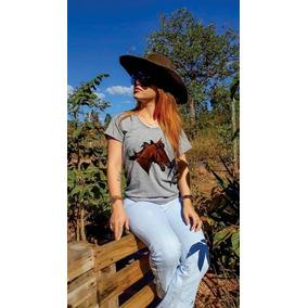 Cowboy 120x Feminino - Camisetas e Blusas no Mercado Livre Brasil 8aea4f4caa7