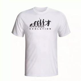 Camisa Camiseta Manga Curta Evolução Handebol Promoção 09aa952051f4d