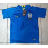 Camisa Seleção Brasil Away Infantil 2018 19 - Sem Número f13fc7deffb
