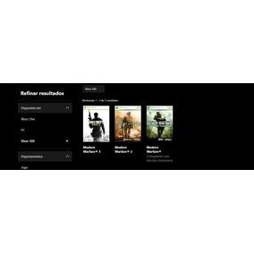 Call Of Duty Cod Modern Warfare Trilogia Xbox360/one Digital