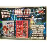 Rock En Vivo 9 Dvd Originales Coleccion Peliculas, Recitales