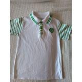 Camisa Infantil Palmeiras Polo Oficial - 2 Unidades
