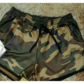Short Feminino Box Cintura Alta Couro Fake Tecido Cirre