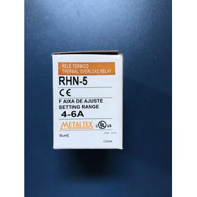 Relé Térmico Rhn-5 Faixa 4-6 Amperes