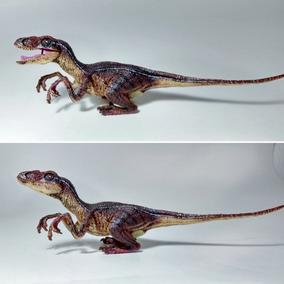 Dinossauro Velociraptor Super Realista Tipo Rebor