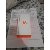 Celular Samsung J6 Preto Tv Hd 32gb