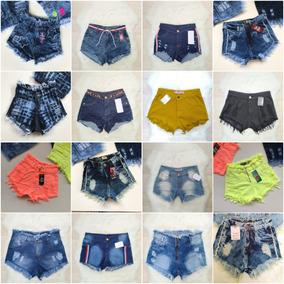 Kit 10 Shorts Jeans Feminino Sortidos Para Revenda Atacado