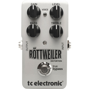 Pedal Guitarra Tc Electronic Rottweiler Distortion