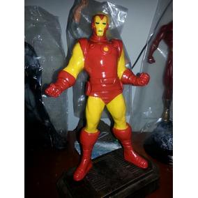 7b66e516167 Boneco Em Resina Iron Man Classico Homem De Ferro - Coleções e ...