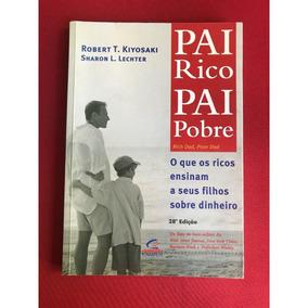 Livro-pai Rico, Pai Pobre- Robert Kiyosaki-raridade+brinde