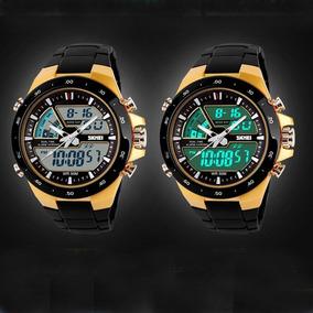 Relógio Masculino Sport Skmei 1016 Analogico E Digital