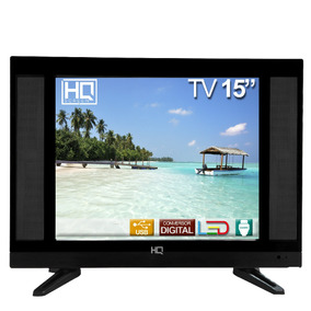 Tv 15 Polegadas Hq Led Conv. Digital Hqtv15