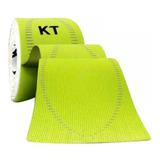Bandagem Elástica Sintética Kt Tape 20 Tiras Verde