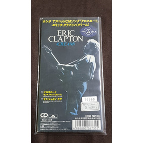 Eric Clapton Cream Crossroads Cd Single Japonês 3 1991 Raro