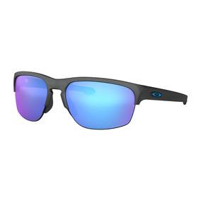 58ce73d068fda Óculos De Sol Oakley Sliver Edge Prizm Sapphire Polarizado