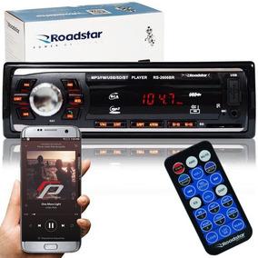 Radio Automotivo Mp3 Player Roadstar Bluetooth Fm Usb 2606