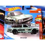 Mc Mad Car Hot Wheels Datsun 620 Auto Hw 2018 1/64 Coleccion