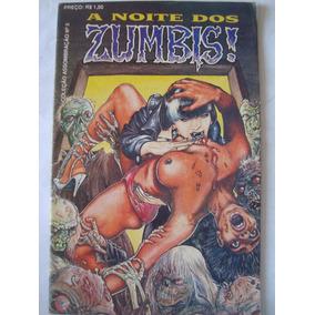 Revista A Noite Dos Zumbis 5 1990 Coleção Assombração