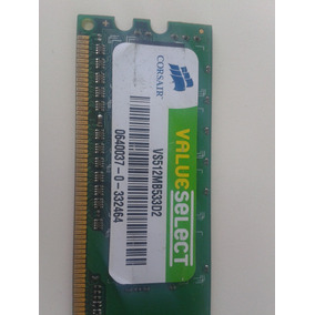 Memoria Corsair Ram 512mb Ddr2 533mhz Pc2-4200u Corsair