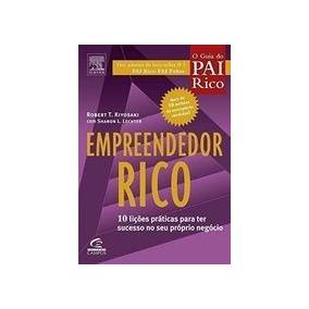 Livro Empreendedor Rico - Coleção Pai Rico