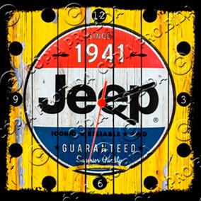 ac6b36680e3 Relógio Vintage King Mdf 27x27 Jeep Cloqbc.0246. R  29 98