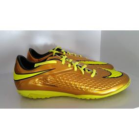 Chuteira Nike Hypervenom Dourada Infantil - Chuteiras no Mercado ... ed7ae1d2a979b