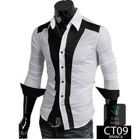 Camisa Social Masculino Branco em Paraíba no Mercado Livre Brasil 2dae2996f4b