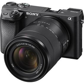 Câmera Sony Alpha A6300 Mirrorless C/lente18-135