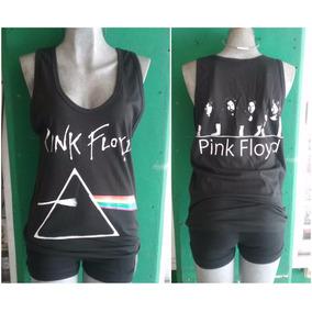 Playera De Resaque Pink Floyd Unisex Chica