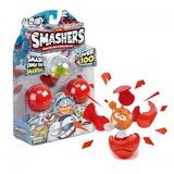 Smashers Personajes Deportivos Pelotas Con 3 Figuras Wabro