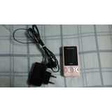 Celular Sony Ericsson W205 Câmera 1.3 Mp - Cor Rosa