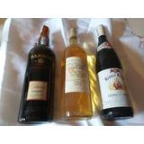 Tres 3 Botellas De Vino Variadas Importadas Super Oferta