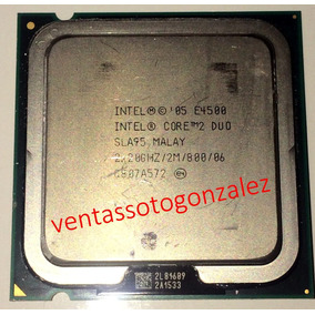 Procesador Intel® Core2 Duo E4500 2m Cache/2.20ghz/800 Mhz