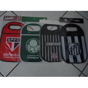 Lixeira Lixo Carro Palmeiras/são Paulo/santos/corinthians