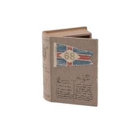 Libro De Madera Caja Banderas 68 - Café Këssa Muebles