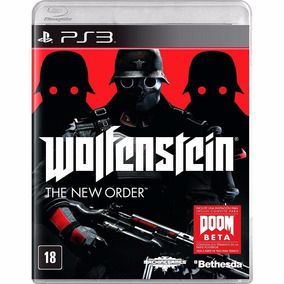 Wolfenstein The New Order Ps3 Mídia Física Lacrado