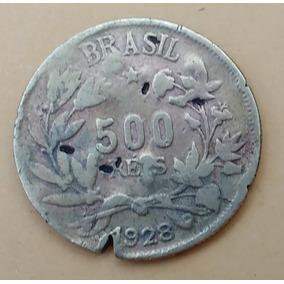 Moeda Brasileira Antiga - 500 Réis
