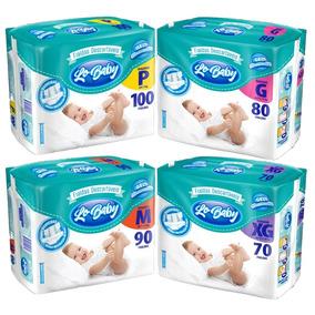 Kit Com 4 Pacotes Lo Baby G Com 320 Fraldas Atacado Barato