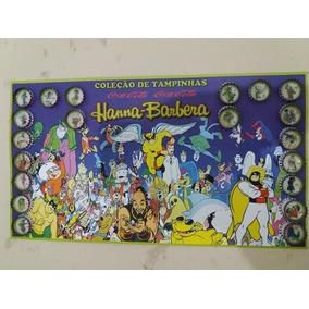 Coleção De Tampinhas Hanna Barbera
