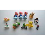 Lote Figuras Nintendo Mario Yoshi Toad