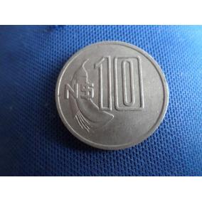 Moeda Uruguaia Artigas 10 N$ 1981