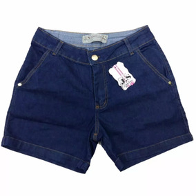 Roupas Femininas Shorts Jeans Feminino Com Lycra 34 Ao 44