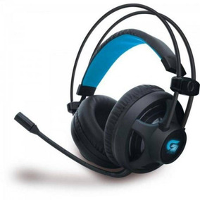 Fone De Ouvido Headset Fortrek Gamer Pro H2 - Preto E Azul