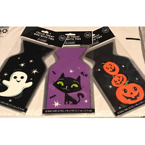 Bolsitas Para Dulces De Halloween Con Diseño Cool