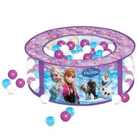 Piscina De Bolinhas - 75cm X 30cm - Disney Frozen - Líder