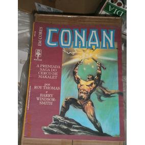 Conan Em Cores - Cerco De Makalet 3 Historias Completas