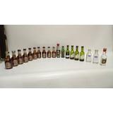 Botella De Licor Pequeña Colección Variada Precio X C/u